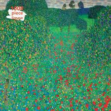 Gustav Klimt: Poppy Field 1000 Piece Jigsaw Puzzle - Florence Griswold  Museum