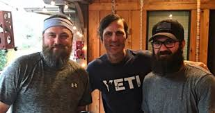 DUCK DYNASTY'S JASE BRAVES THE SHAVE ALL IN THE NAME OF CHARITY ...