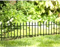 garden borders fencing empire black powder coated steel edging common in x actual uk coat