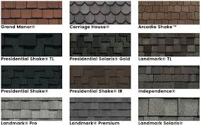 owens corning architectural shingles colors. Simple Colors Gaf Timberline Colors  Owens Corning Oakridge Shingles  Reviews Throughout Architectural