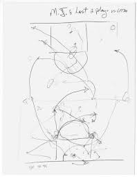 The rembrandt of basketball the new york times 15 phil jackson mj sketch superjumbo the rembrandt of basketball diagram basketball plays