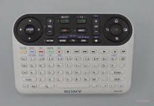 sony google tv. nsg-mr1 sony google tv blu-ray remote control qwerty keyboard battery powered tv