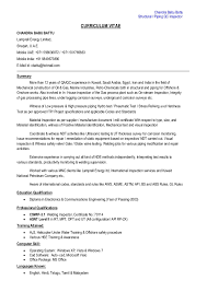 Qc Inspector Resume Magdalene Project Org