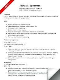 Medical Secretary Sample Resume Best of Medical Secretary Resume Objectives Dadajius
