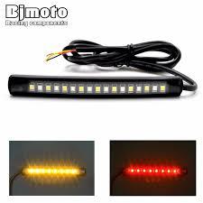 <b>BJMOTO</b> Universale <b>LED</b> Auto Moto Luci di Coda Freno Segnale di ...