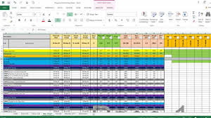 xl spreadsheet templates monitor and control excel sheet youtube