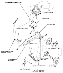 Remove replace a control arm on 1989 honda civic dx