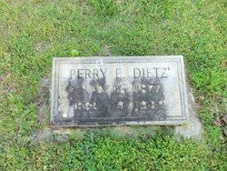 Perry Eugene Dietz (1877-1969) - Find A Grave Memorial