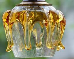 hand blown glass pendant lighting. hand blown glass pendant light ceiling 1960s lighting