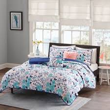 Buy Twin XL Quilts & Coverlets from Bed Bath & Beyond & Intelligent Design Delle Full/Queen Coverlet Set in Blue Adamdwight.com