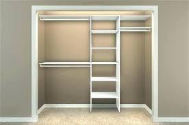 closet shelves ideas simple interior with 5 8 ft organizer and dressing room storage