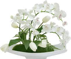 """<b>Цветы декоративные Dream Garden</b> """"Орхидея белая c ..."""