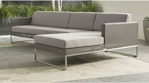 dune outdoor sectional with sunbrella fabric reviews crate and barrel outdoor sectional e21 outdoor