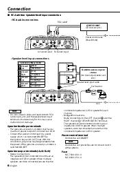 kenwood 6404 kac amplifier support and manuals Kenwood Wiring Harness at Kenwood Kac 720 Wiring Diagram