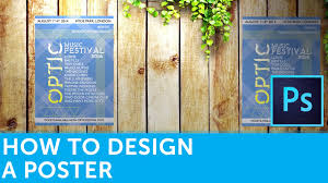 Banner Design Tutorial In Photoshop Pdf How To Design A Poster In Photoshop Design Tutorial