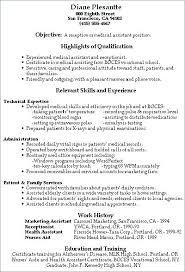 Assistant Resume Sample Medical Administrative Assistant Resume
