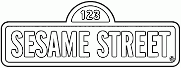 Printable Sesame Street Sign For Kids Coloring Pages Street Sign