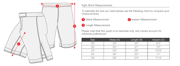 Bad Boy Mma Size Chart Bad Boy Mma Shorts Size Chart Best Picture Of Chart