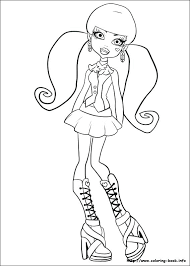 Monster High Coloring Pages Pdf Monster High Coloring Pages Monster