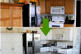 painted kitchen cabinets diy 2