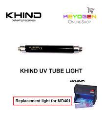 Fake Money Detector Light Khind Uv Tube Light Money Detector Md401 Check Fake Notes By Uv Light