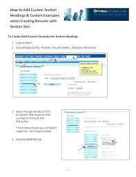 Rasmussen Optimal Resume Optimal Resume University Of Toledo Joefitnessstore Com