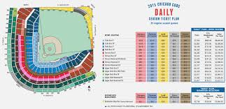 Wrigley Field Seating Chart Prices 27 Systematic Ewriglwy Field Seating Chart