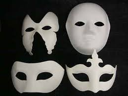 White Masks To Decorate Mask white mask plain masks to decorate paint colour glitter 2