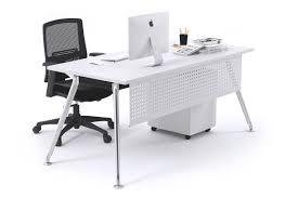 chrome office desk. San Fran - Executive Office Desk Chrome Leg [1200L X 800W] JasonL 4