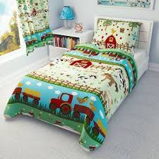 details about farm animals baby bedding set duvet covers for cot cot bed toddler 100 cotton