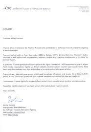 Recommendation Letter For Programmer Przemek Nowicki Software Developer