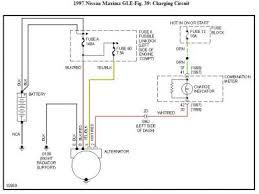nissan alternator wiring diagram nissan image 1997 nissan maxima alternator wiring harness 1997 auto wiring on nissan alternator wiring diagram