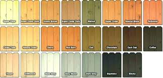 Ace Wood Royal Deck Stain Color Chart Ace Stain Gconcept Com Co