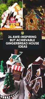 Ideas using gingerbread christmas home decorations Christmas Tree But Have Worked My Way Through It To Find Some Impressive Looking But Still Realistically Doable Ideas For Your Gingerbread House This Year Morningchores 24 Easy Gingerbread House Ideas That Are Totally Worth It