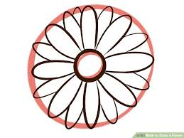 Small Picture 9 Easy Ways to Draw a Flower wikiHow