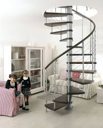 Exciting Spiral Staircase Decoration : Cheerful Spiral Staircase Decorating  Design Ideas For Home Design With Dark