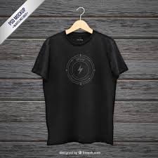 Tshirt Psd Black T Shirt Mockup Psd File Free Download