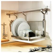 Wooden Plate Racks For Kitchens Kitchen Large Dish Drying Rack Over The Sink White Kitchen