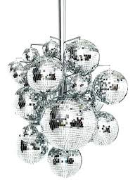 disco ball chandelier mirror ball chandelier