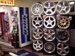 Alloy Wheel Display Stand Street SportsShop Information 57