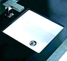 undermount sinks bathroom sink rectangle 7 small kohler home depot canada