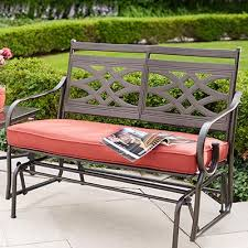 bench design home depot outside benches outdoor glider bench costco bench glider cushions furniture cool