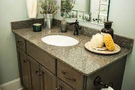 Six Design Ideas For Quartz Bathroom Vanity Tops