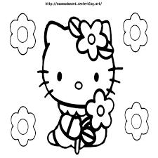 Dessins De Coloriage Hello Kitty Imprimer Avec Coloriage