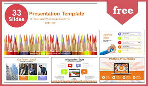 google slide backgrounds colored pencils education google slides powerpoint presentation
