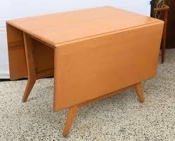 Drop Leaf Dining Table Maple Heywood Wakefield Drop Leaf Dining Table 1950s Saturday