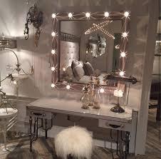 bedroom vanity with lights. DIY Vanity Mirror With Lights For Bathroom And Makeup Station Bedroom M