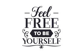 Feel Free To Be Yourself Svg Cut File By Creative Fabrica Crafts Creative Fabrica