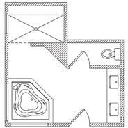 bathroom floor plans. Wonderful Floor Bathroom Floor Plans Plan Options Ideas Planning KOHLER And