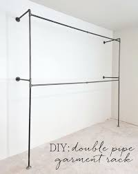 Wood Coat Rack Diy Wardrobes Hanging Diy Clothes Racks For An Open Closet I Need This 99